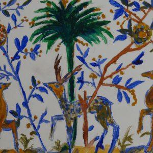 Del Museu Nacional do Azulejo de Lisboa. 13x21 cm.