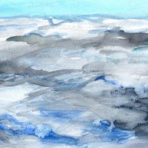 Nubes. 15x19cm.