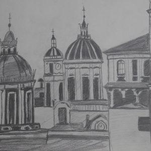 Vista de Catania | 21x29 (A4)