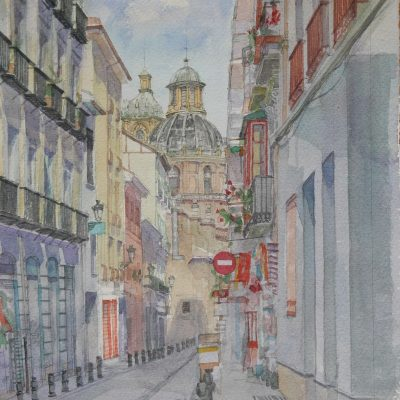 Calle San Jerónimo | 49x33 | 600€.