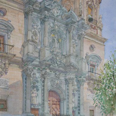 Portada de la Basílica de San Juan de Dios. Granada | 56x38 | 1100 €