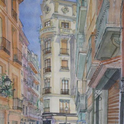 El número 47 de la Calle Reyes Católicos | 56x38 | 950€