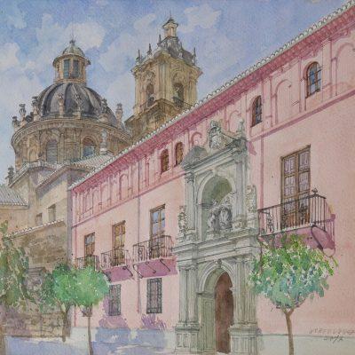 Colegio Mayor San Bartolomé y Santiago | 46x40 | 800€.