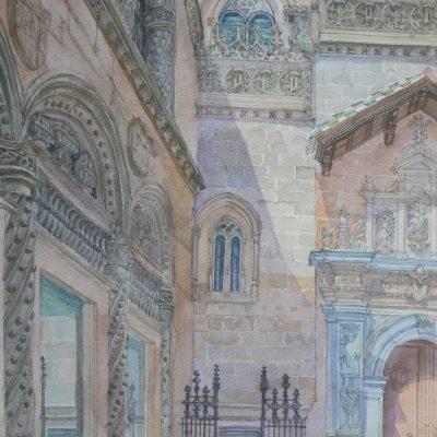 Portada de la Capilla Real de Granada | 56x35 | 950€