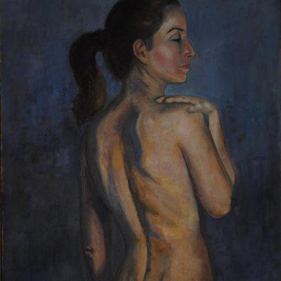 Rosa. Maribel Porcel. 550 euros. 75x54 cm