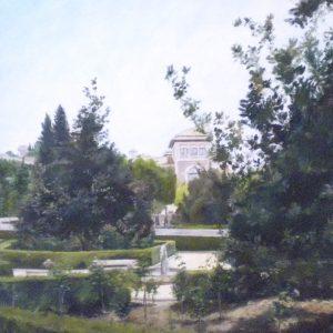 7. Jardín del Triunfo. Sacri Jiménez. Óleo sobre lienzo. 73x60 cm. 580 euros