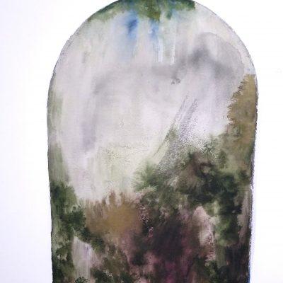 Abre la puerta (cerrada). Amalia. Tinta. 38x56 cm. 250 e